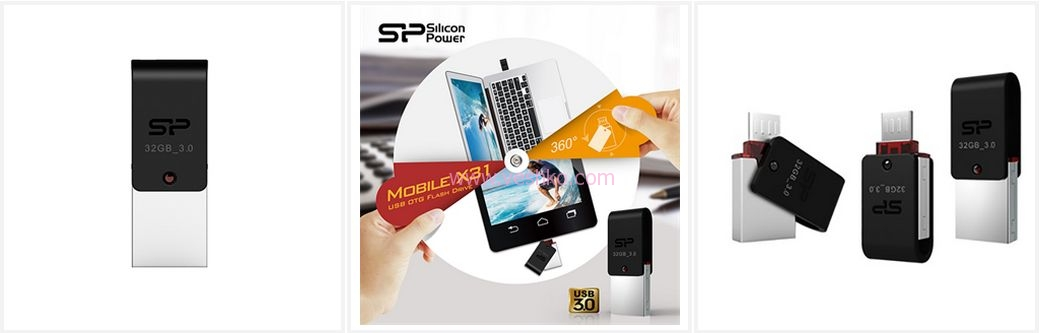فلش اوتی جی Mobile X31