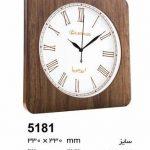 ساعت دیواری ام. دی. اف. و چوبی کد 5181