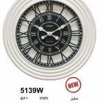 ساعت دیواری چوبی کد 5139