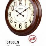 ساعت دیواری چوبی کد 5186